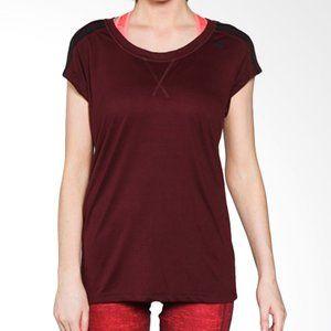 Adidas Essentials Running T-shirt Maroon Medium